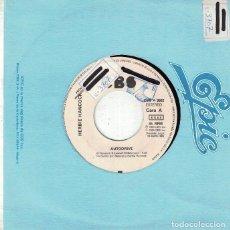 Discos de vinilo: HERBIE HANCOCK - AUTODRIVE (SINGLE PROMO ESPAÑOL, CBS 1983). Lote 105230855