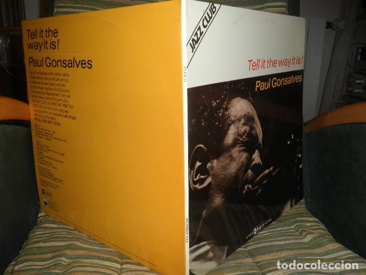 Discos de vinilo: PAUL GONSALVES - TELL IT THE WAY IT IS! LP - EDICION ESPAÑOLA - ABC IMPULSE 1978 - GATEFOLD COVER - Foto 6 - 105233835