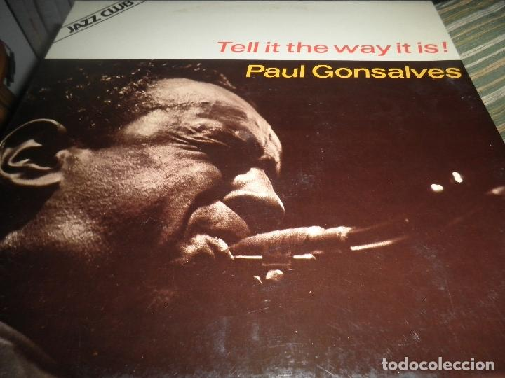 Discos de vinilo: PAUL GONSALVES - TELL IT THE WAY IT IS! LP - EDICION ESPAÑOLA - ABC IMPULSE 1978 - GATEFOLD COVER - Foto 10 - 105233835