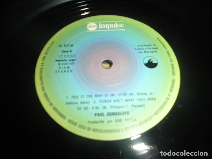 Discos de vinilo: PAUL GONSALVES - TELL IT THE WAY IT IS! LP - EDICION ESPAÑOLA - ABC IMPULSE 1978 - GATEFOLD COVER - Foto 12 - 105233835