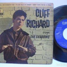Discos de vinilo: CLIFF RICHARD CON THE SHADOWS - DREAM. Lote 105245215