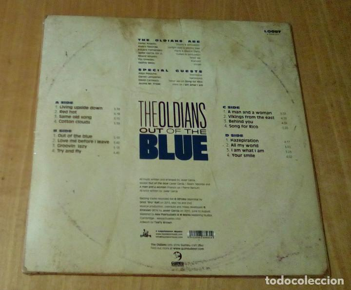 Discos de vinilo: THE OLDIANS - The Oldians Presents Out Of The Blues (2LP 2015, Liquidator Music LQ087) PRECINTADO - Foto 2 - 105247283