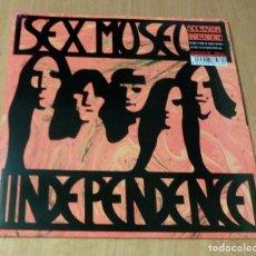 Discos de vinilo: SEX MUSEUM - INDEPENDENCE (LP + CD BONUS, 30TH ANIVERSARY LIMITED ED./500, GATEFOLD) PRECINTADO. Lote 105251067