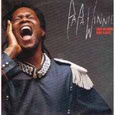 Discos de vinilo: PAPA WINNIE - ONE BLOOD, ONE LOVE - LP 1990. Lote 105266955