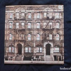 Discos de vinilo: LED ZEPPELIN // PHYSICAL GRAFFITI // LP DOBLE // CARATULA TROQUELADA. Lote 105278627