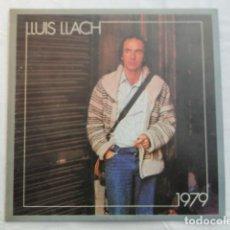 Discos de vinilo: DISCO LLUÍS LLACH 1979. DISCOGRÁFICA ARIOLA.. Lote 105299087