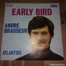 Discos de vinilo: ANDRE BRASSEUR– EARLY BIRD. Lote 105315643