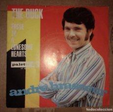 Discos de vinilo: ANDRÉ BRASSEUR – THE DUCK. EDICION ALEMANA. Lote 105321515