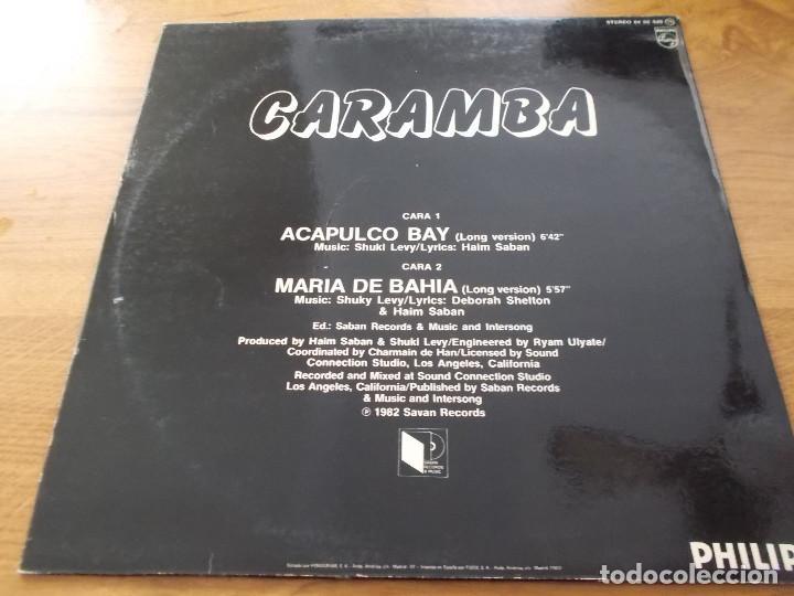 Discos de vinilo: CARAMBA. ACAPULCO BAY. - Foto 2 - 105327067