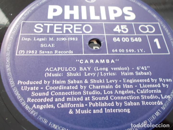 Discos de vinilo: CARAMBA. ACAPULCO BAY. - Foto 3 - 105327067