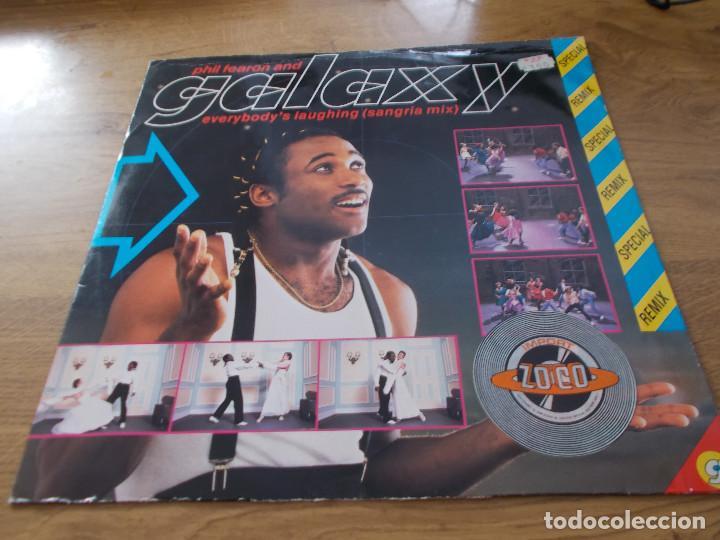 PHIL FEARON & GALAXY. EVERYBODY´S LAUGHING. (Música - Discos de Vinilo - Maxi Singles - Disco y Dance)