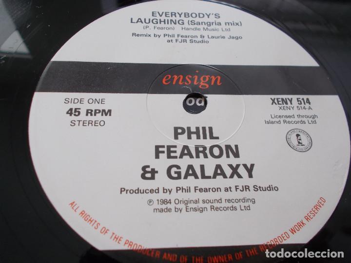 Discos de vinilo: PHIL FEARON & GALAXY. EVERYBODY´S LAUGHING. - Foto 3 - 105327671