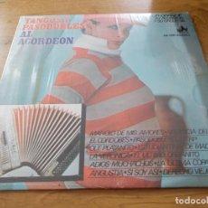 Discos de vinilo: HECTOR GRANDE. TANGOS Y PASODOBLES AL ACORDEON.. Lote 105329951