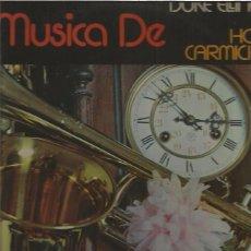 Discos de vinilo: LA MUSICA DE DUKE ELLINGTON. Lote 105330879