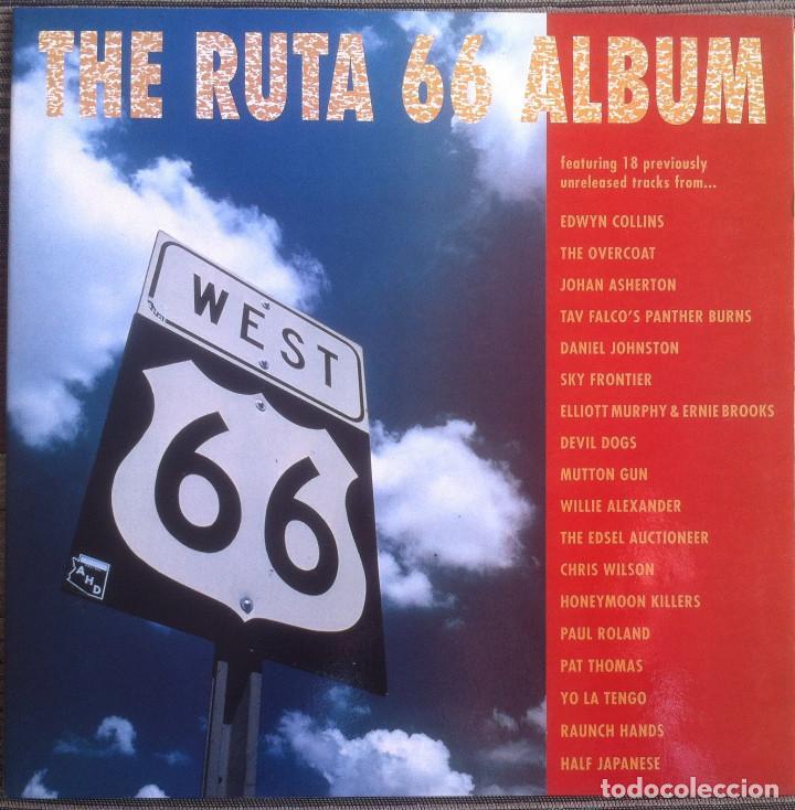THE RUTA 66 ALBUM - COMPILACIÓN - LP 1991 CAPOTE CAP 15 EDICIÓN ORIGINAL ESPAÑOLA. (Música - Discos - LP Vinilo - Pop - Rock Extranjero de los 90 a la actualidad)