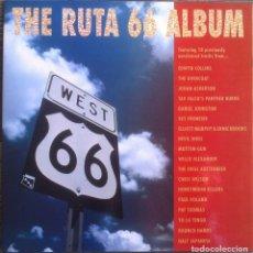 Discos de vinilo: THE RUTA 66 ALBUM - COMPILACIÓN - LP 1991 CAPOTE CAP 15 EDICIÓN ORIGINAL ESPAÑOLA.. Lote 105339923