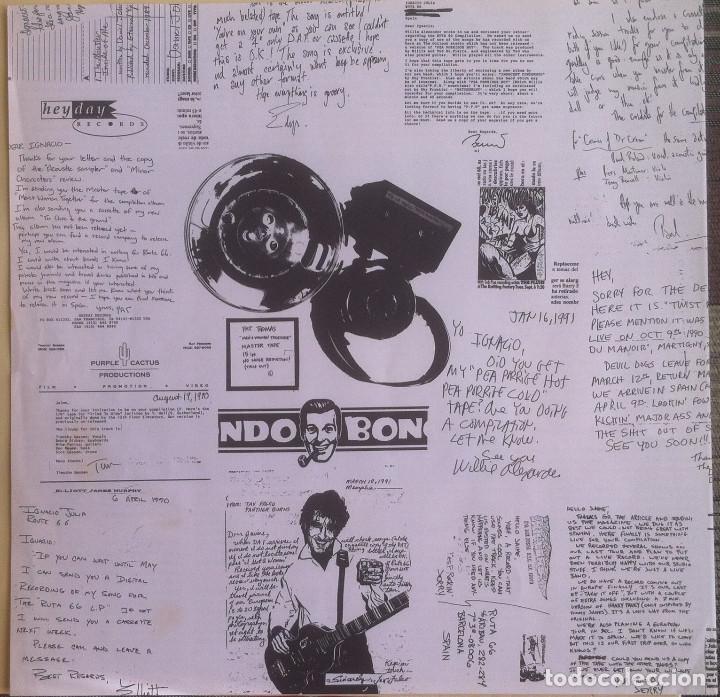 Discos de vinilo: The Ruta 66 Album - Compilación - LP 1991 CAPOTE CAP 15 Edición original española. - Foto 4 - 105339923