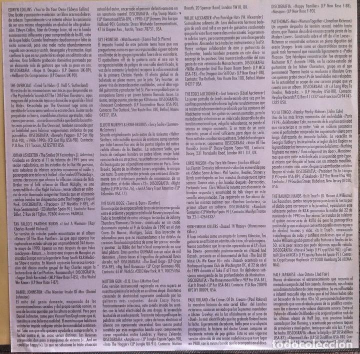 Discos de vinilo: The Ruta 66 Album - Compilación - LP 1991 CAPOTE CAP 15 Edición original española. - Foto 5 - 105339923