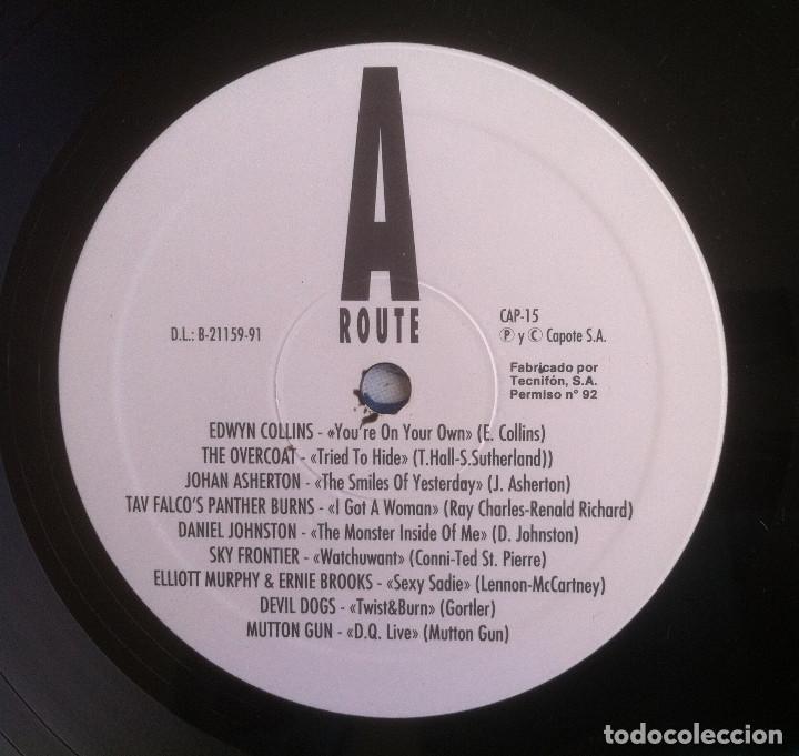 Discos de vinilo: The Ruta 66 Album - Compilación - LP 1991 CAPOTE CAP 15 Edición original española. - Foto 6 - 105339923