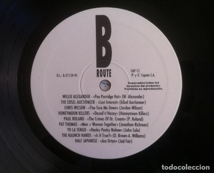 Discos de vinilo: The Ruta 66 Album - Compilación - LP 1991 CAPOTE CAP 15 Edición original española. - Foto 7 - 105339923