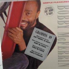 Disques de vinyle: BOBBY MCFERRIN - SIMPLE PLEASURES - LP ESPAÑOL NUEVO. Lote 105350907