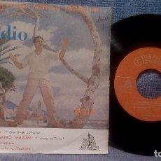 Discos de vinilo: CLAUDIO VILLA - 1ER FESTIVAL DE LA CANCION MEDITERRANEA - BINARIO + 3 ED. ESPAÑOLA - CETRA 1959. Lote 105355551