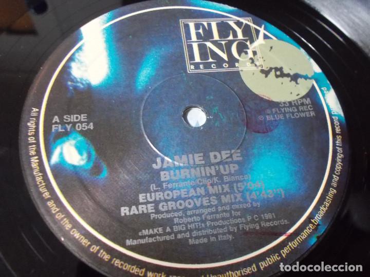 Discos de vinilo: JAMIE DEE. BURNIN UP - Foto 3 - 105368211