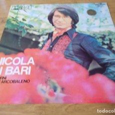 Discos de vinilo: NICOLA DI BARI. I GIORNI DELL´ARCOBALENO. Lote 105371883