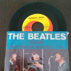 Discos de vinilo: THE BEATLES SINGLE PAPERBACK WRITER - RAIN .U.S.A. 1966. Lote 105373051
