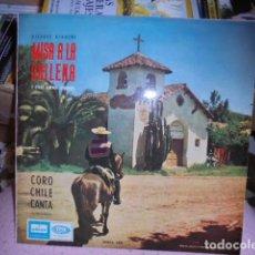Discos de vinilo: MISA A LA CHILENA / CORO CHILE CANTA VICENTE BIANCHI - 1965 EMI ODEON - MUY BUEN ESTADO. Lote 105389475