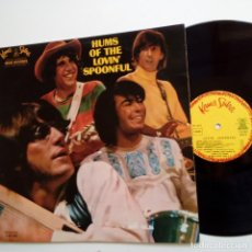 Discos de vinilo: LOVIN SPOONFUL- HUMS OF THE LOVIN SPOONFUL- FRENCH LP 1966-MONO- LAMINATE.. Lote 105448095