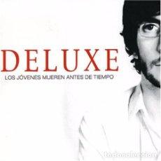Disques de vinyle: LP DELUXE LOS JOVENES MUEREN ANTES DE TIEMPO VINILO XOEL LOPEZ GALICIA. Lote 124851675