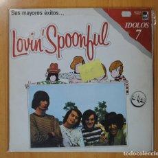 Discos de vinilo: LOVIN´ SPOONFUL - SUS MAYORES EXITOS - 2 LP. Lote 105476247