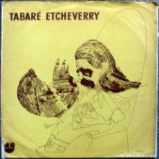Discos de vinilo: TABARE ETCHEVERRY. POR SER POCOS. MACONDO. URUGUAY 1972 LP. Lote 105494575