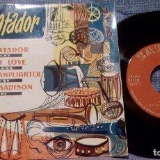 Discos de vinilo: CHET AVERY, STAN FRANK, BILLY WADE - EL MATADOR - EP ESPAÑOL ZAFIRO AÑO 1960 - EX. Lote 105498379