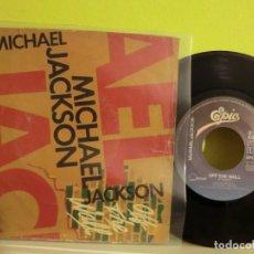 Discos de vinilo: MICHAEL JACKSON, ( OFF THE WALL )1979, SINGLE 199. Lote 105555931