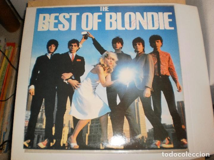 LP BLONDIE. THE BEST OF BLONDIE. 1981 ENGLAND (DISCO PROBADO Y BIEN) (Música - Discos - LP Vinilo - Pop - Rock - New Wave Extranjero de los 80)