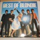 Discos de vinilo: LP BLONDIE. THE BEST OF BLONDIE. 1981 ENGLAND (DISCO PROBADO Y BIEN). Lote 105556123