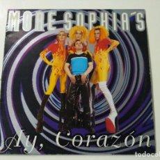 Discos de vinilo: MORE SOPHIA'S - AY, CORAZÓN. Lote 105570147