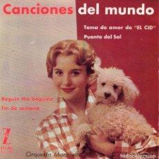 Discos de vinilo: ORQUESTA MARAVELLA, EP, BEGUIN THE BEGUINE + 3, AÑO 1962. Lote 105576643