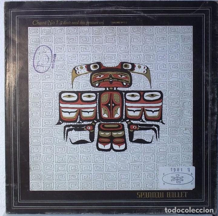 SPANDAU BALLET - CHANT Nº 1 - MAXI (Música - Discos de Vinilo - Maxi Singles - Jazz, Jazz-Rock, Blues y R&B)