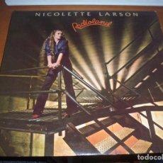 Discos de vinilo: NICOLETTE LARSON. RADIOLAND.. CON ENCARTE.. Lote 105579371