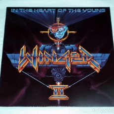 Discos de vinilo: LP WINGER - IN THE HEART OF THE YOUNG. Lote 105579787