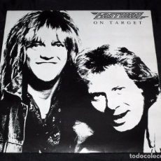 Discos de vinilo: LP FASTWAY - ON TARGET. Lote 105579995