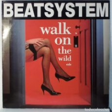 Discos de vinilo: BEATSYSTEM - WALK ON THE WILD - MAXI. Lote 105582399
