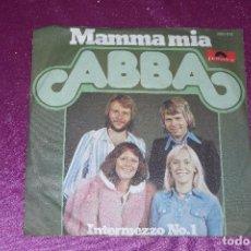 Discos de vinilo: ABBA. MAMMA MIA/ INTERMEZZO NO. 1. GERMANY 1975 SINGLE POLYDOR,. Lote 105585783