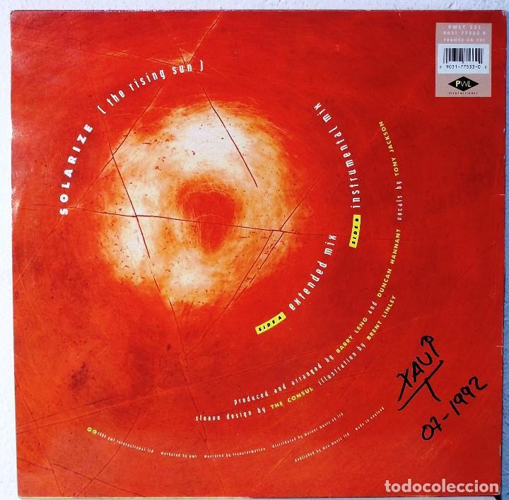Discos de vinilo: BEL TANE - SOLARIZE THE RISING SUN - MAXI - Foto 2 - 105588679