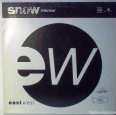 Discos de vinilo: EASTE WEST - SNOW INFORMER - MAXI . Lote 105588847