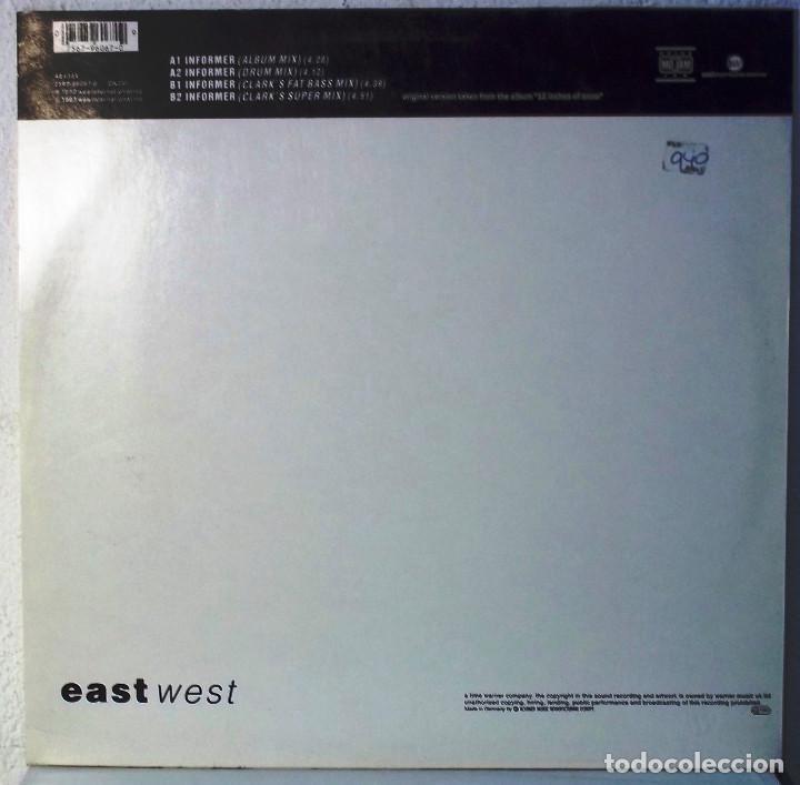Discos de vinilo: EASTE WEST - SNOW INFORMER - MAXI - Foto 2 - 105588847