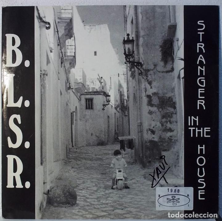 BLSR - STRANGER IN THE HOUSE - MAXI (Música - Discos de Vinilo - Maxi Singles - Jazz, Jazz-Rock, Blues y R&B)